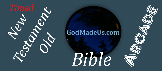 Bible games on GodMadeUs.com Timed New Testament - Old Testament