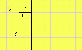 Picture of 5 squares