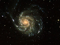 Picture of the pinwheel galaxy