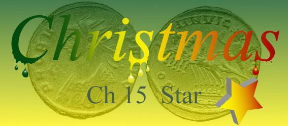 Christmas book logo Chapter 15