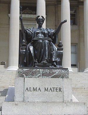 Image showing the Alma Mater statue
