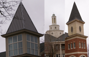 Image showing the steeples at a university.