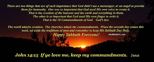 Picture of keep the Commandments of God